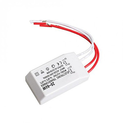 20-60W 12V Halogen LED Lamp Electronic Transformer Spotlight Adapter G4 Adapter AA