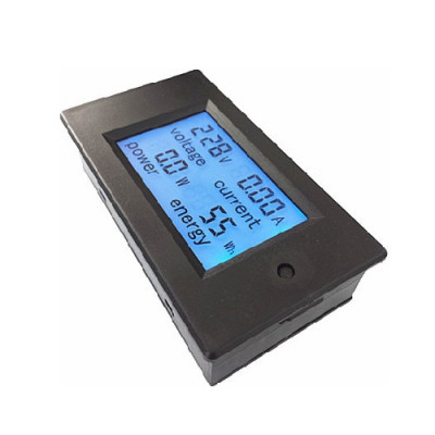 100A Power Monitor Module AC Meter Panel