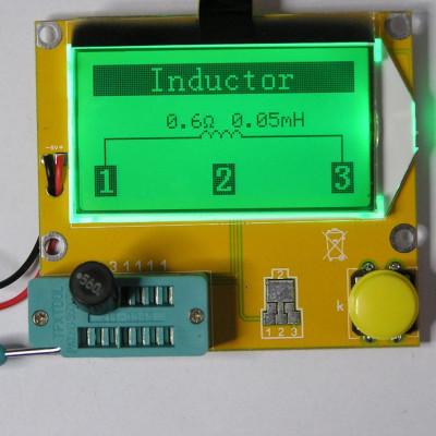 LCR-T4 ESR Meter Transistor Tester Diode Triode Capacitance MOS Mega328 Transistor Tester
