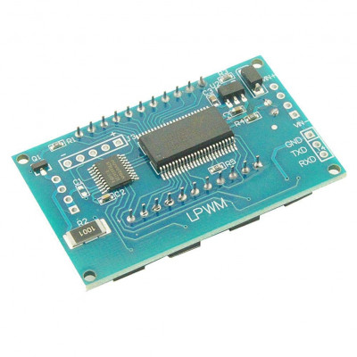 PWM Pulse Frequency Duty Cycle Adjustable Module Square Wave Rectangular Wave Signal Generator XY-LPWM