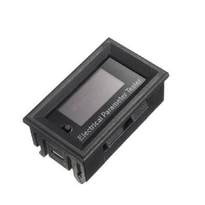 100v 10A dc combo meter bolt amp power watt capacity panel meter for monitor oled