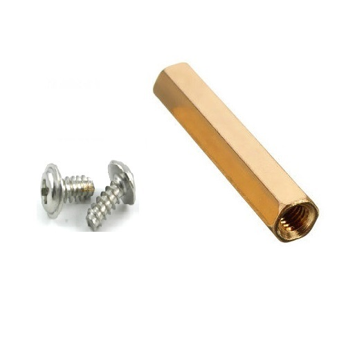 M2.5 10MM HEXAGONAL SPACER WITH SCREW SET