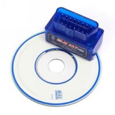 SUPER MINI ELM327 BLUETOOTH v2.1 EOBD 2 CAN BUS OBD2 CAR READER SCANNER