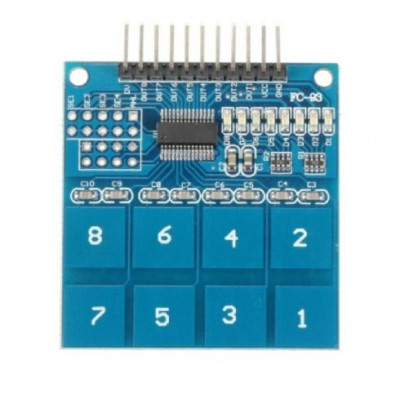 TTP226 8 CHANNEL DIGITAL CAPACITIVE TOUCH SENSOR FOR ARDUINO OTHERS