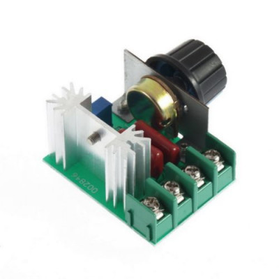 AC 220V 2000W SCR VOLTAGE REGULATOR DIMMERS SPEED CONTROL THERMOSTAT
