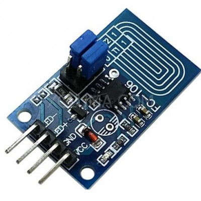 Capacitive Touch LED Dimmer PWM Control Switch Module