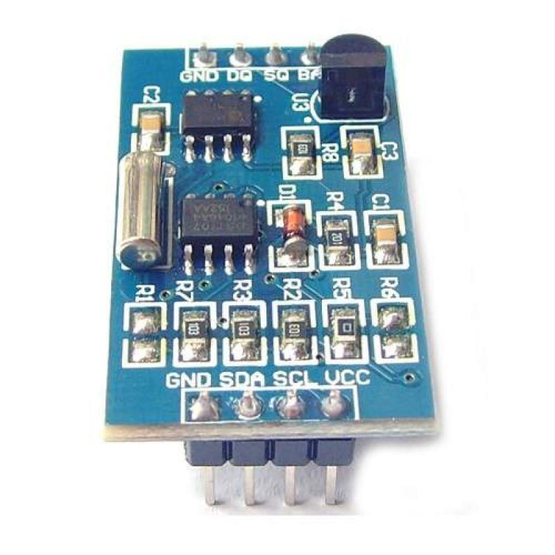 DS1307 Real-Time Clock DS18B20 Digital Temperature Sensor AT24C128 EEPROM  Memory