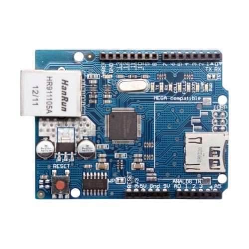 ETHERNET SHIELD WIZNET W5100 FOR ARDUINO UNO MEGA 1280 2560 MICRO SD CARD