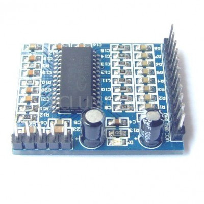 PT2314 sound quality regulating module and audio processing module