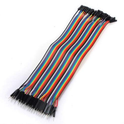 40 PCS MALE TO MALE JUMPER WIRES DUPONT LINES 20CMS 200mm
