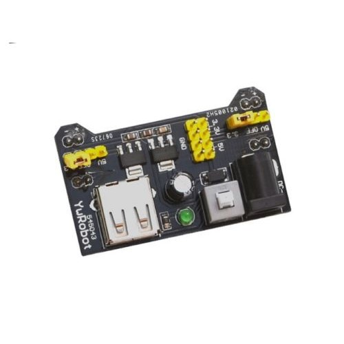 Breadboard Power Supply Module 3.3V 5V MB102 Solderless Bread Board