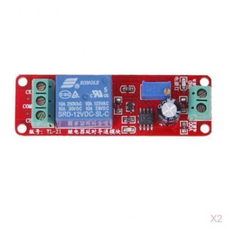 Ne Dc V Digital Delay Timer Relay With Module Adjustable To Seconds X on Arduino Relay Module 12v
