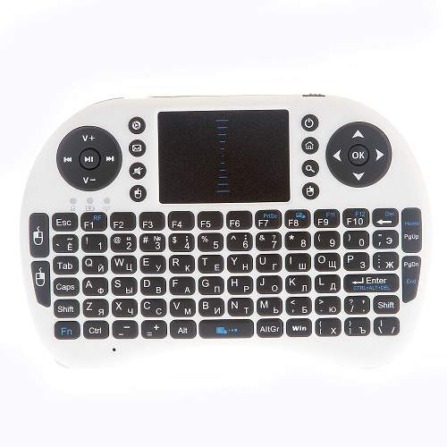 New mini II8 Wireless 92-Key Keyboard QWERTY Air Mouse Multi-Media Remote