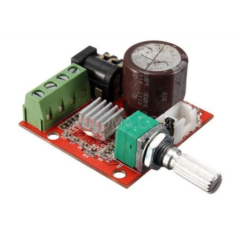 PAM8610 Audio Stereo Amplifier Board 2X10W Dual Channel D Class