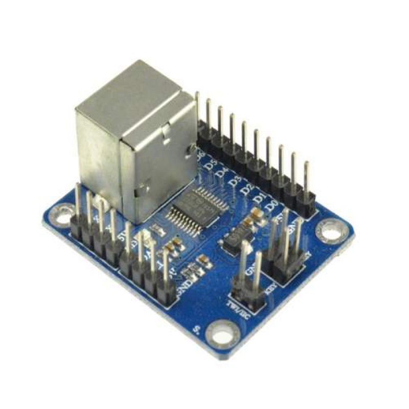 PS2 KEYBOARD DRIVER TWI / IIC SERIAL PORT TRANSMISSION MODULE For ARDUINO