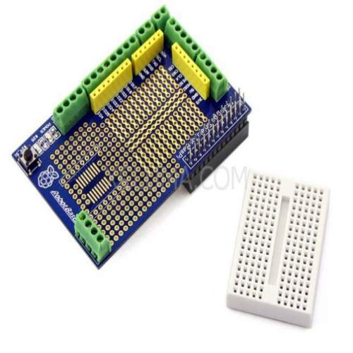 Prototype Prototyping Shield module for Raspberry Pi Plate