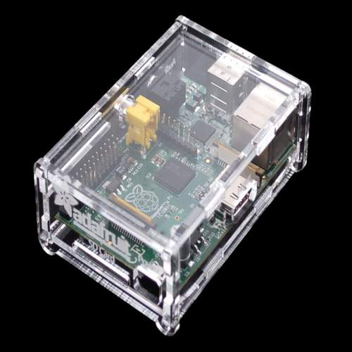 Raspberry Pi 2 Clear Acrylic Case Shell Enclosure Computer Box Kit