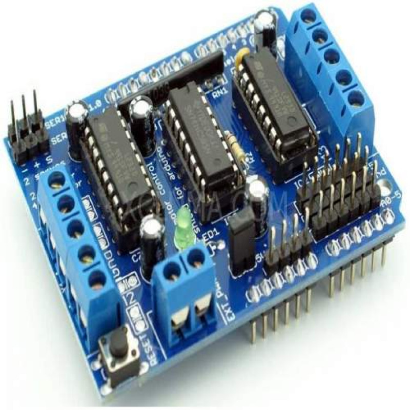 L293d motor driver shield for arduino and others for L293d motor driver module